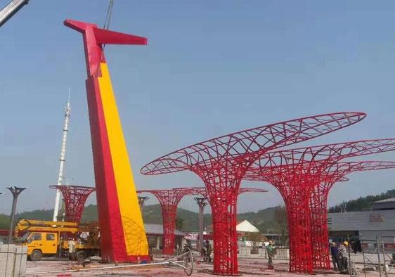 广场金属雕塑设计