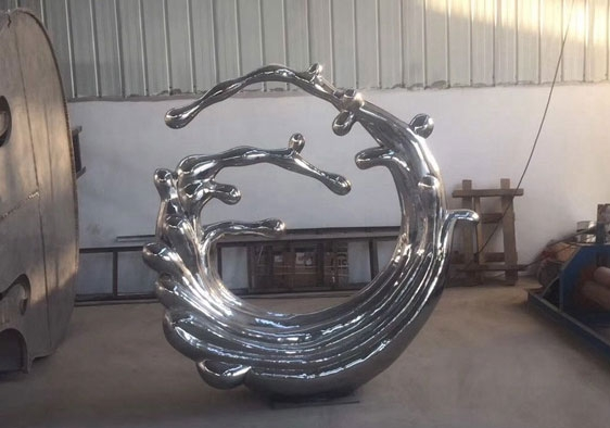 不锈钢雕塑定制安装